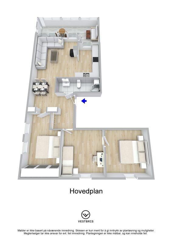 Stordgata 4 D, 5522 HAUGESUND