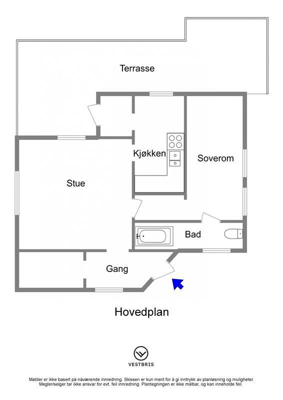 Høievegen 900, 5563 TYSVÆR