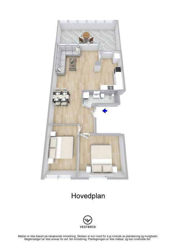 Austmannavegen 6 B, 5537 HAUGESUND