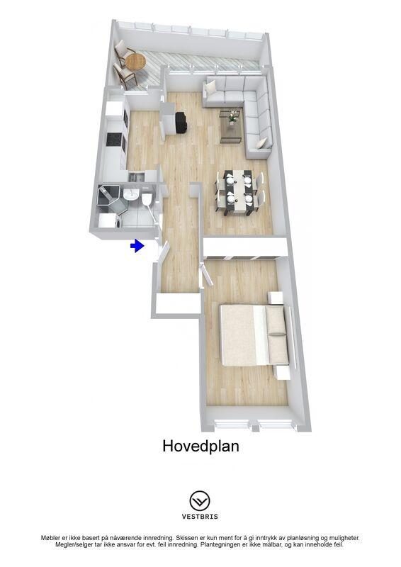 Stordgata 8 D, 5522 HAUGESUND